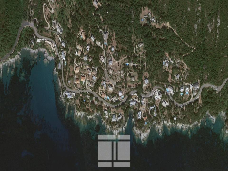 ERBALUNGA - TERRAIN 1660M2 - VUE MER