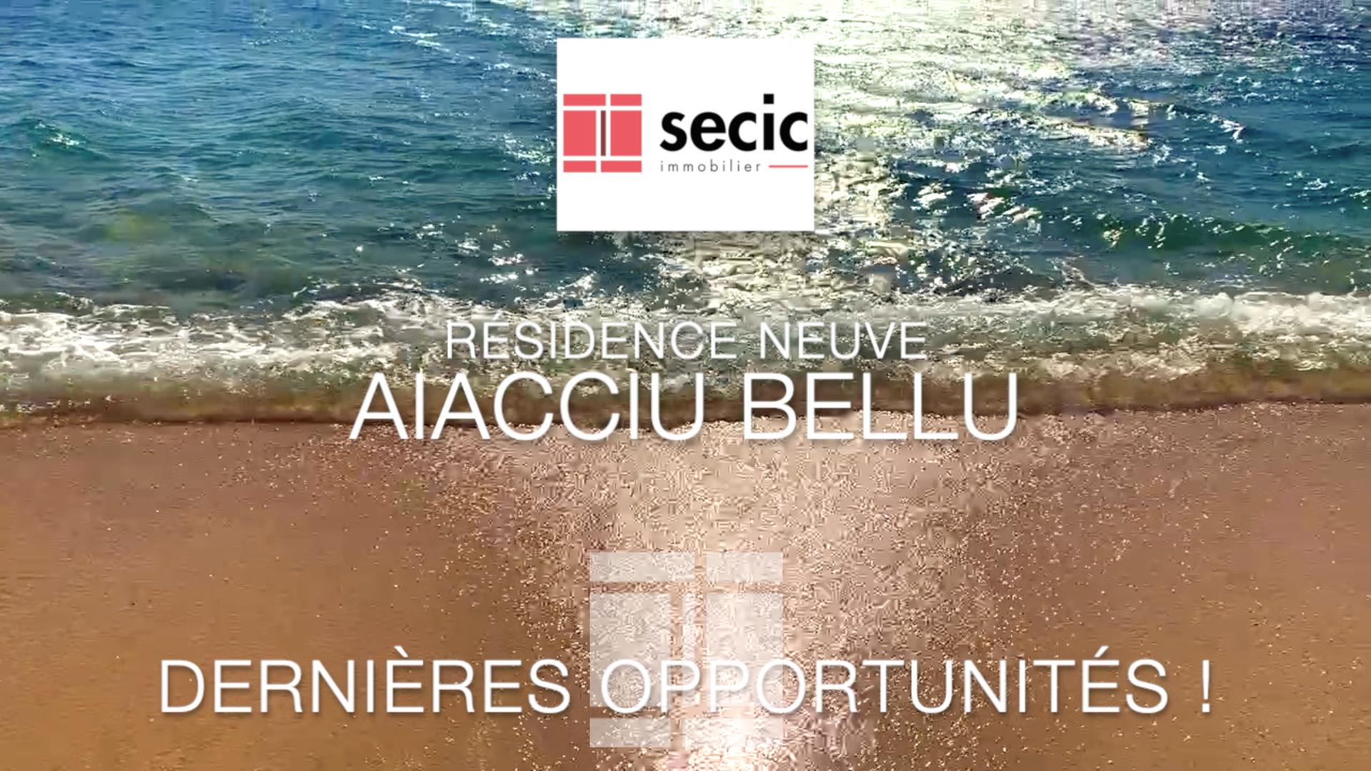 RESIDENCE AIACIU BELLU - ASPRETTO - T3 - 92 m2 - à partir de 390 000 €