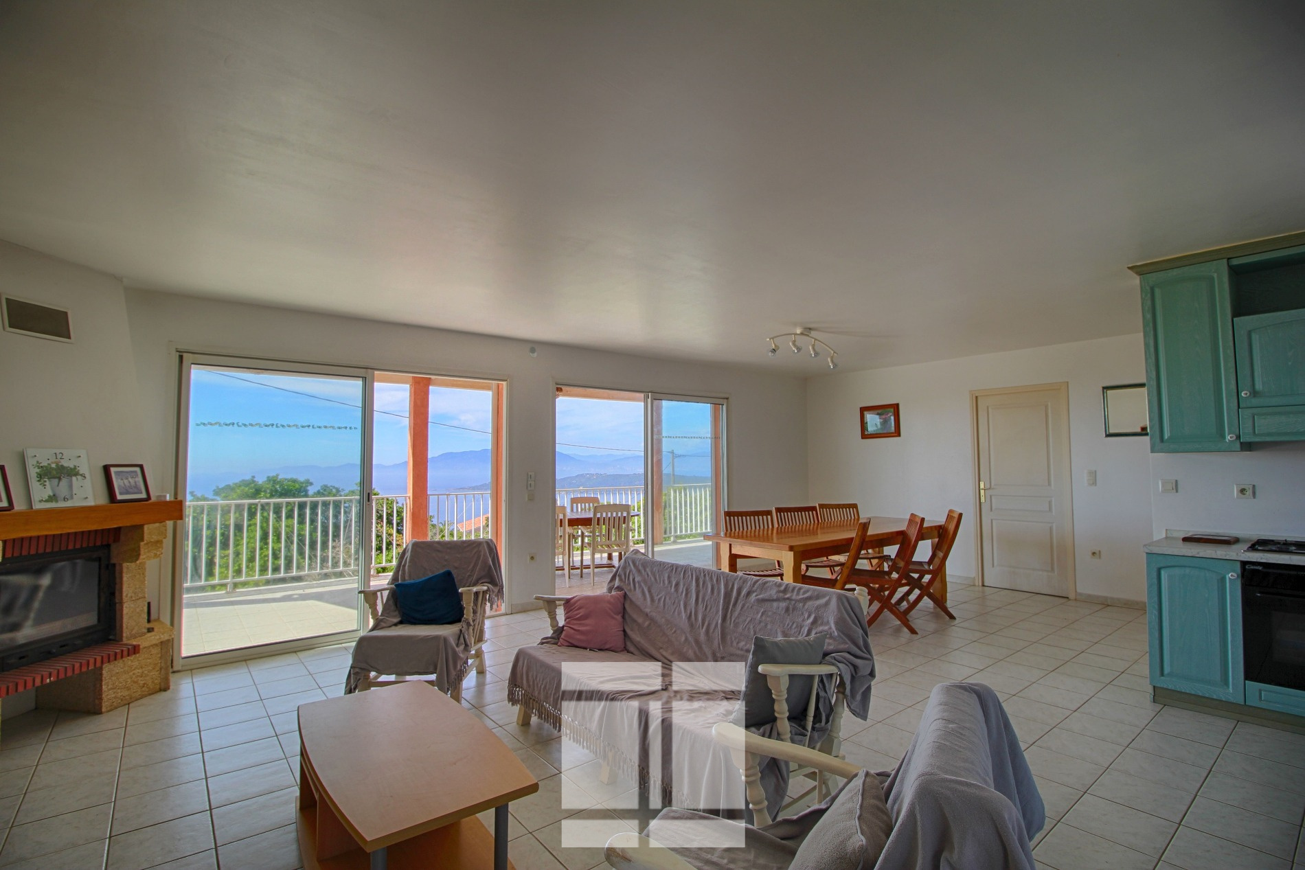 Villa vue mer imprenable à Coti Chiavari