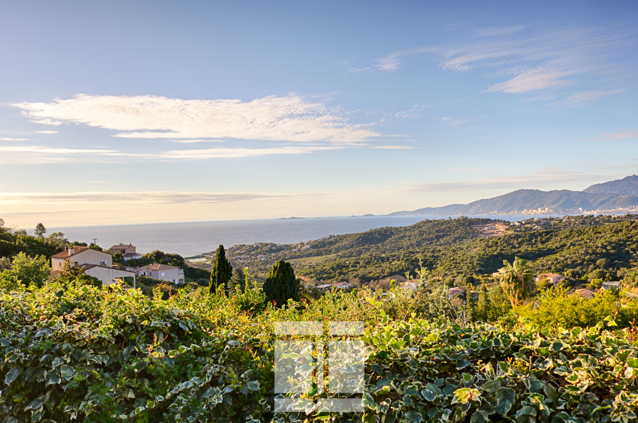 PORTICCIO - Villa avec piscine et vue mer imprenable