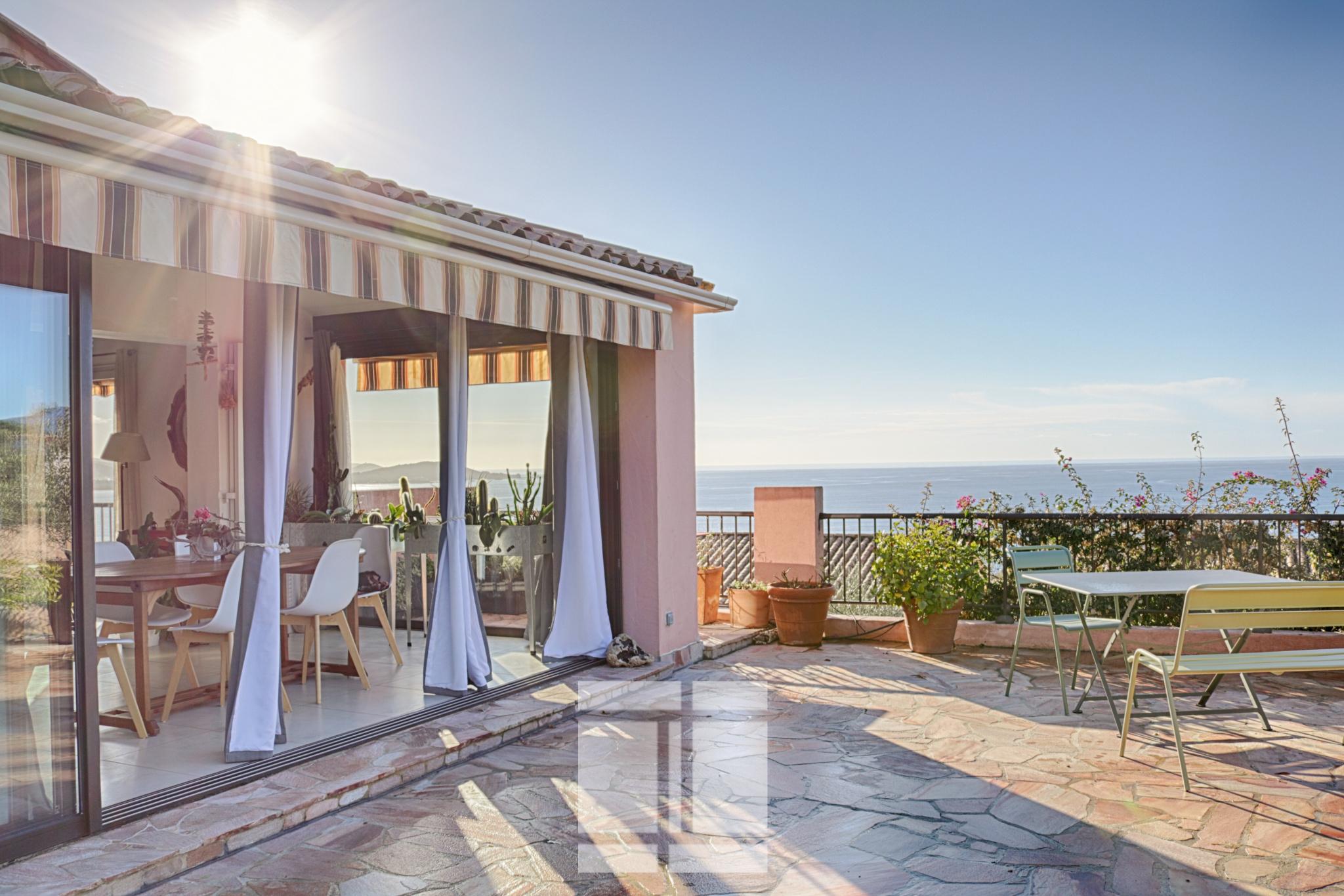 Porticcio - Maison à la vue splendide sur le golfe